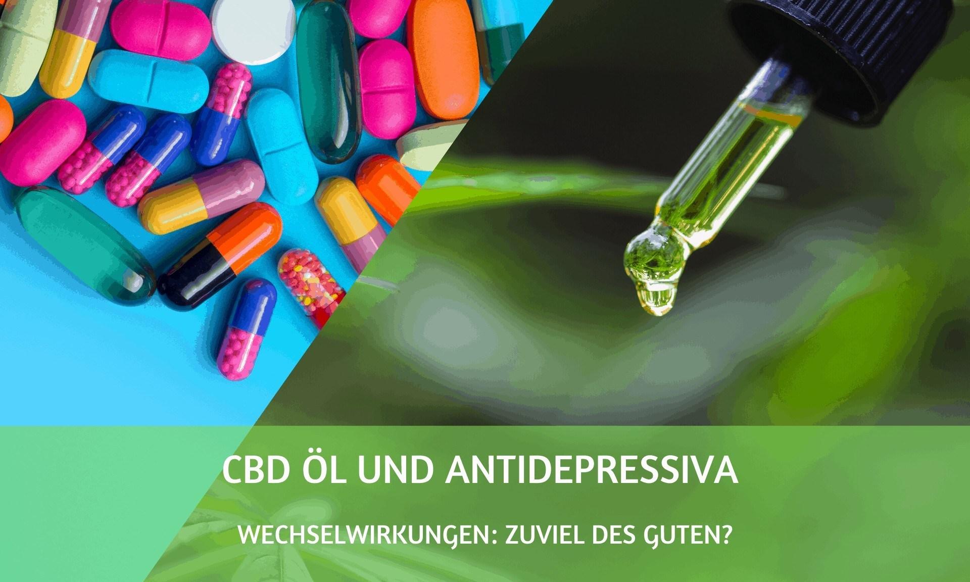 CBD Öl und Antidepressiva Wechselwirkungen: Zuviel des Guten?
