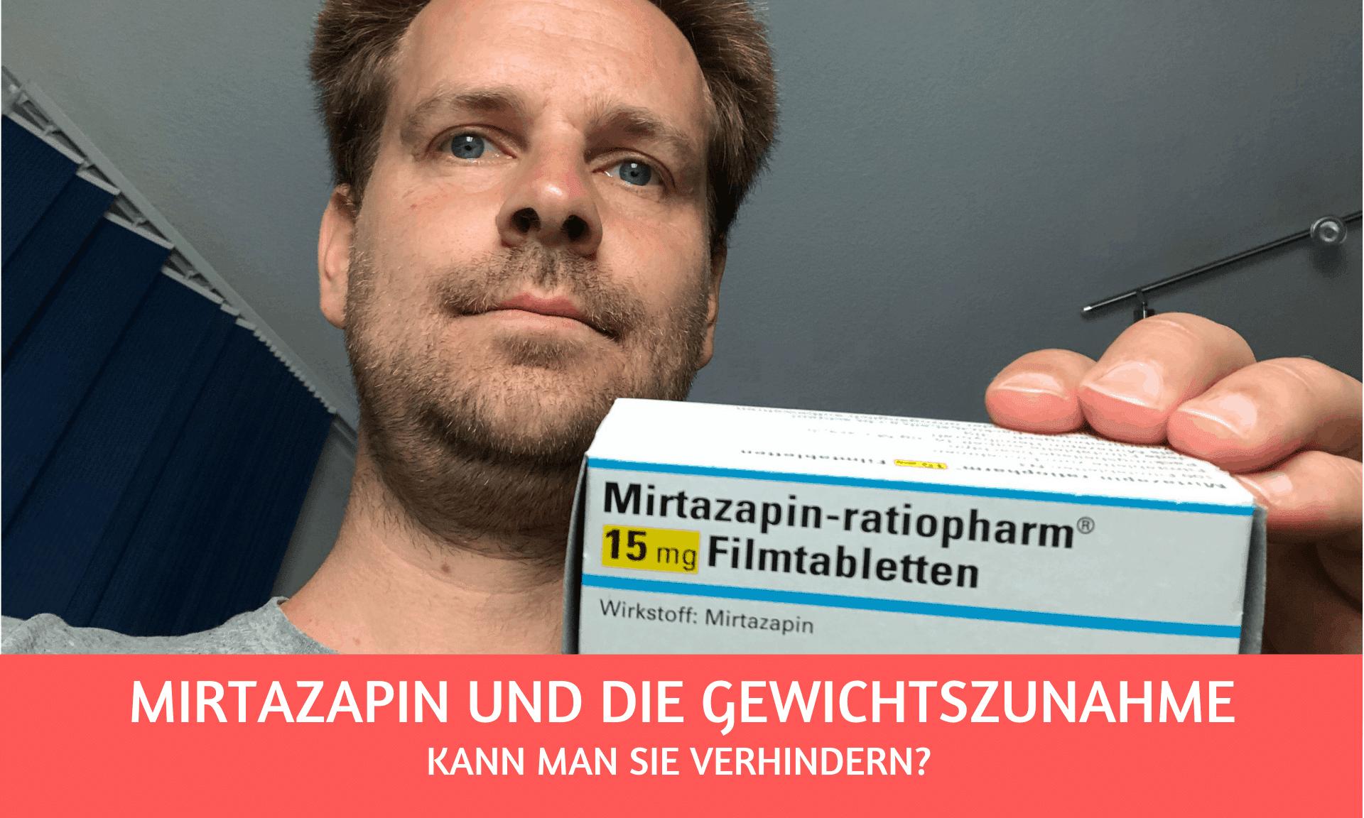 Gewichtszunahme bei Mirtazapin: kann man das verhindern?